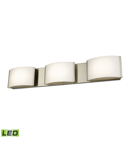 Alico BVL913-10-16M Pandora LED LED 25 inch Satin Nickel Vanity Wall Light photo