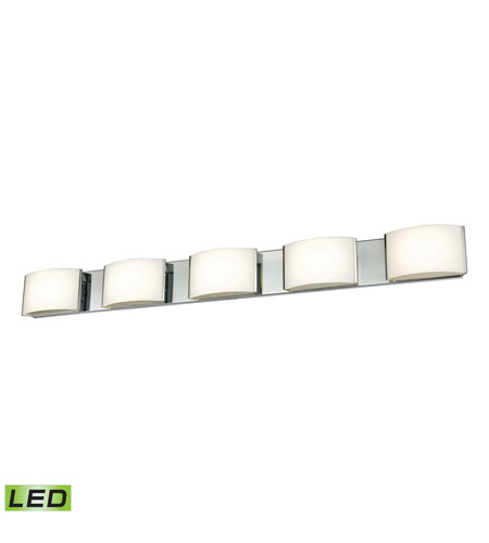 Alico BVL915-10-15 Pandora LED LED 44 inch Chrome Vanity Wall Light photo