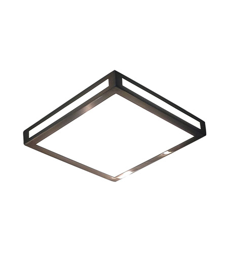 Alico FML3000-10-16M Eurolite LED 12 inch Metallic Grey Flushmount Ceiling Light photo