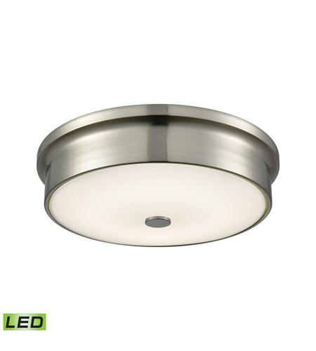 Alico FML4225-10-16M Towne LED 12 inch Satin Nickel Flush Mount Ceiling Light photo