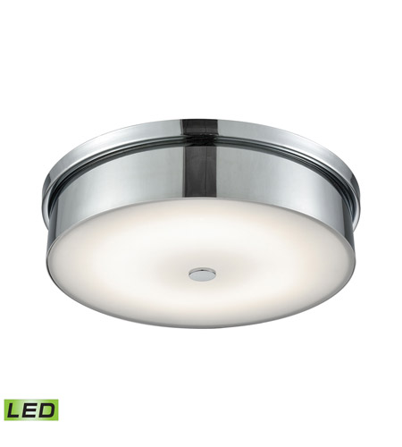 Alico FML4950-10-15 Towne LED 15 inch Chrome Flush Mount Ceiling Light photo