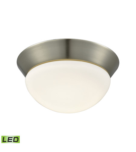Alico FML7125-10-16M Contours LED 8 inch Satin Nickel Flush Mount Ceiling Light photo