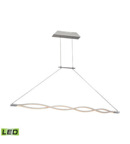 Alico LC1350-10-98 Twist LED 2 inch Aluminum Pendant Ceiling Light photo