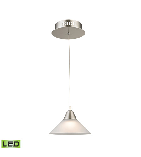 Alico LCA101-10-16M Cono LED 7 inch Satin Nickel Pendant Ceiling Light photo