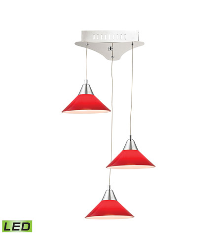 Alico LCA103-11-15 Cono LED 12 inch Chrome Pendant Ceiling Light photo