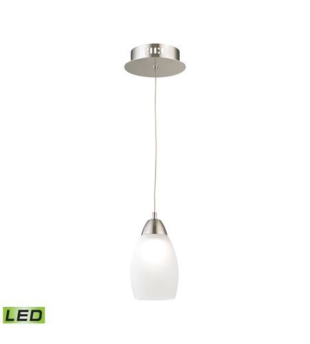 Alico LCA201-10-16M Buro LED 4 inch Satin Nickel Pendant Ceiling Light photo