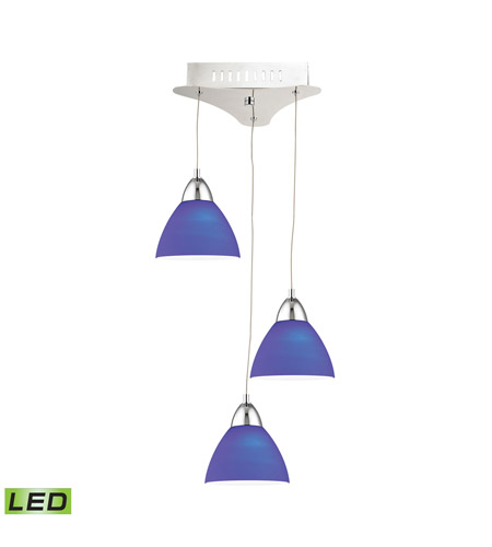 Alico LCA303-7-15 Piatto LED 11 inch Chrome Pendant Ceiling Light photo