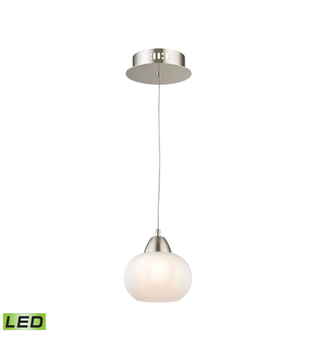 Alico LCA401-10-16M Ciotola LED 6 inch Satin Nickel Pendant Ceiling Light photo