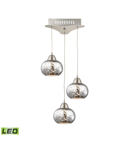 Alico LCA403-113-16M Ciotola LED 10 inch Satin Nickel Pendant Ceiling Light photo