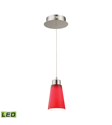 Alico LCA501-11-16M Coppa LED 5 inch Satin Nickel Pendant Ceiling Light photo