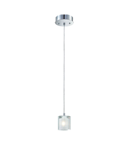 Alico PS3001-0-15 Tiara 1 Light 3 inch Chrome Pendant Ceiling Light photo