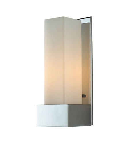 Alico WS121-10-15 Solo Tall 1 Light 4 inch Chrome ADA Sconce Wall Light photo