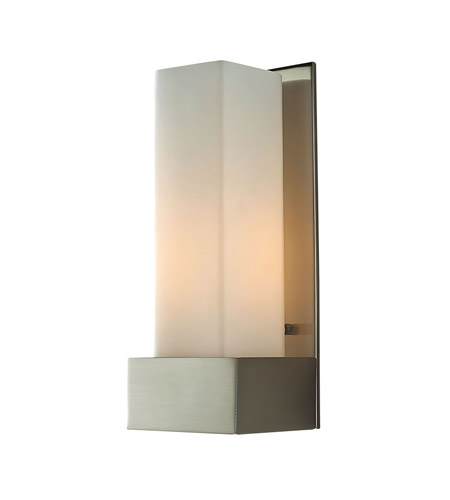 Alico WS121-10-16M Solo Tall 1 Light 4 inch Satin Nickel ADA Sconce Wall Light photo
