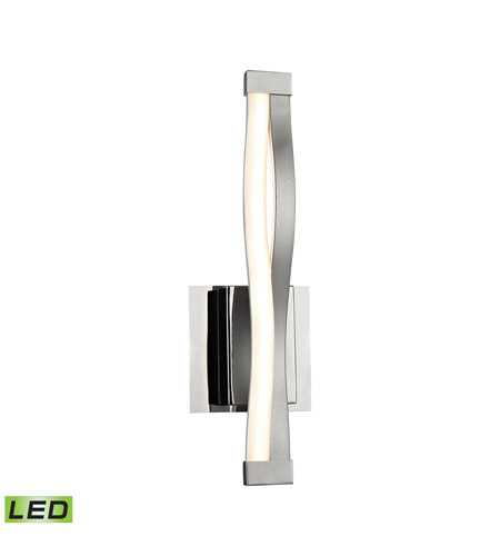 Alico WSL1351-10-98 Twist LED 2 inch Aluminum and Chrome Wall Sconce Wall Light photo