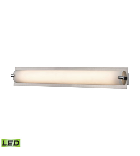 Alico WSL4500-10-16M Piper LED 26 inch Matte Satin Nickel Vanity Wall Light photo