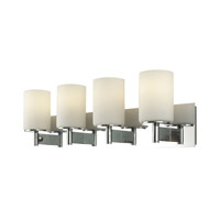 Alico BV7004-10-15 Truss 4 Light 30 inch Chrome Vanity Wall Light photo thumbnail