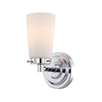 Madison 1 Light 6 inch Chrome Vanity Wall Light