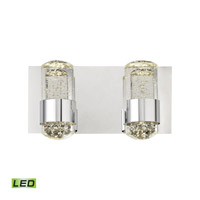 Surrey LED 12 inch Chrome Vanity Wall Light