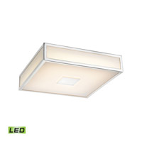 Alico Hampstead 9-inch LED Flushmount in Chrome with Opal White Acrylic Diffuser FML4000-10-15