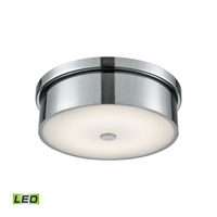 Towne LED 12 inch Chrome Flush Mount Ceiling Light