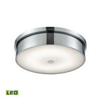 Towne LED 15 inch Chrome Flush Mount Ceiling Light