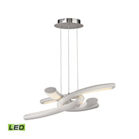 Knot LED 30 inch Chrome Pendant Ceiling Light