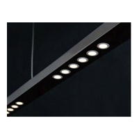 The Wand LED 35 inch Black Pendant Ceiling Light
