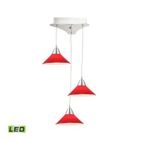 Alico LCA103-11-15 Cono LED 12 inch Chrome Pendant Ceiling Light photo thumbnail