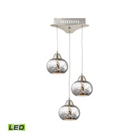 Alico LCA403-113-16M Ciotola LED 10 inch Satin Nickel Pendant Ceiling Light photo thumbnail