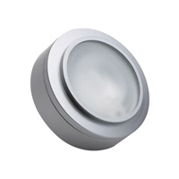 Alico Zeepuk 1 Light Cabinet Light in Stainless Steel with Frosted Glass Diffuser MZ401-5-16