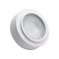 Alico Zeepuk 1 Light Cabinet Light in White with Frosted Glass Diffuser MZ401-5-30