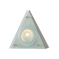 Alico Zeepuk 1 Light Cabinet Light in Stainless Steel with Frosted Glass Diffuser MZ901-5-16-5