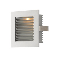 Alico Signature 1 Light LED Steplight in Grey Louvre With Grey Trim with Louvre WLE-104