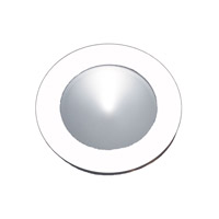 Alico Polaris 1 Light LED Cabinet Light in White with Frosted Glass Lens WLE140C32K-0-30