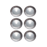Alico Polaris 1 Light LED Cabinet Light in Brushed Aluminum with Frosted Glass Lens WLE140C32K-0-98-6