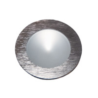 Alico Polaris 1 Light LED Cabinet Light in Brushed Aluminum with Frosted Glass Lens WLE140C32K-0-98
