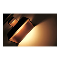 Alico WSL601-N-66 Mason LED 8 inch Black And Gold ADA Sconce Wall Light alternative photo thumbnail