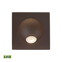 Zone 2 watt Matte Brown Steplight