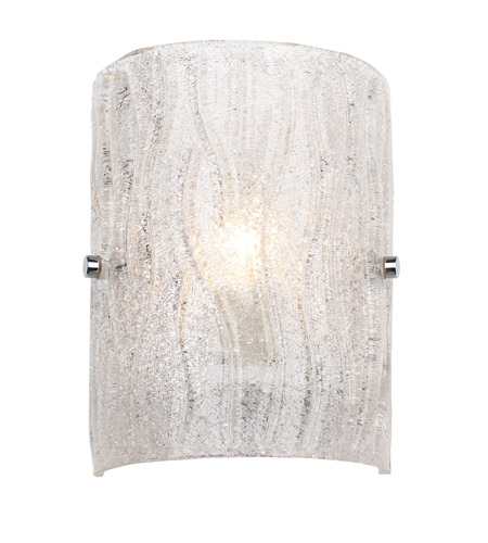 Alternating Current Brilliance 1 Light Sconce in Chrome AC1101 photo