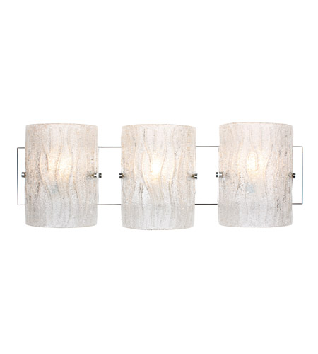 Alternating Current AC1103 Brilliance 3 Light 23 inch Chrome Bath Vanity Wall Light photo