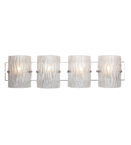 Alternating Current AC1104 Brilliance 4 Light 31 inch Chrome Bath Vanity Wall Light photo