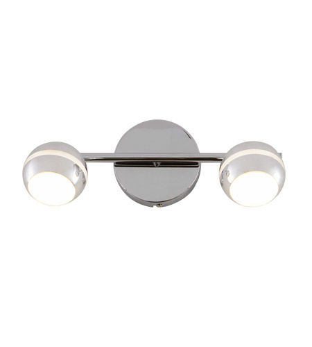 Alternating Current Bionic 2 Light Vanity in Polished Chrome AC1182 photo