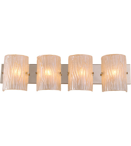 Alternating Current AC1304 Brilliance 4 Light 31 inch Champagne Vanity Wall Light photo