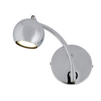Alternating Current Bowled Over 1 Light Vanity in Chrome AC1031