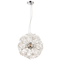 Alternating Current Clearvoyant 3 Light Pendant in Chrome AC1043