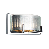 Firefly 2 Light 11 inch Chrome Bath Vanity Wall Light