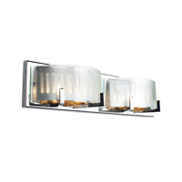 Firefly 4 Light 22 inch Chrome Bath Vanity Wall Light