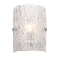 Alternating Current Brilliance 1 Light Sconce in Chrome AC1101 photo thumbnail