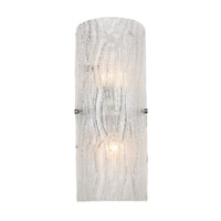 Alternating Current Brilliance 2 Light Sconce in Chrome AC1102
