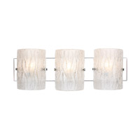 Alternating Current Brilliance 3 Light Bath Vanity in Chrome AC1103